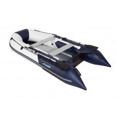 Гладиатор B370AL (Light) килевая с алюминиевым пайолом со стрингерами - моторная лодка ПВХ