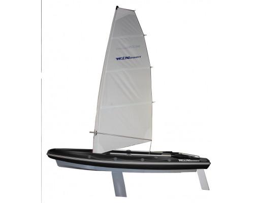 WinBoat 460R Sail парусная -  классический РИБ - жёстко-надувная моторная лодка