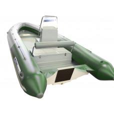 WinBoat 530R с рулевой консолью, рундуками -  классический РИБ - жёстко-надувная моторная лодка