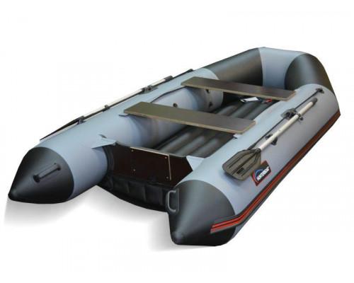 Хантер 320 ЛКА (НДНД) с надувным дном низкого давления - моторная надувная лодка ПВХ
