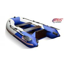 СТЕЛС 255 килевая, с фанерным полом-книжкой - моторная надувная лодка ПВХ