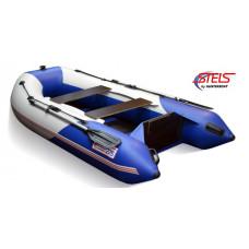 СТЕЛС 275 килевая, с фанерным полом-книжкой - моторная надувная лодка ПВХ