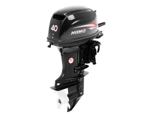Hidea HD 40 FEL с дистанционным управлением; длинной ногой - 2х-тактный лодочный мотор