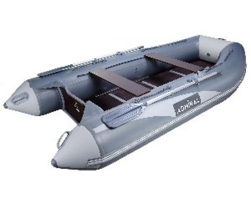 Адмирал 335 килевая, с фанерным пайолом со стрингерами - моторная надувная лодка ПВХ