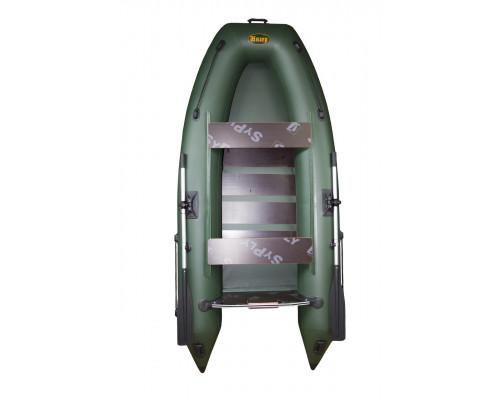 Инзер моторная 290 см, Ø 36, с реечным полом, плоскодонная надувная лодка ПВХ