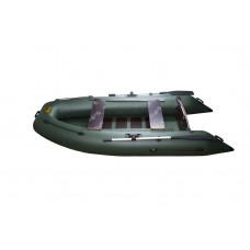 Инзер моторная 290 см, Ø 36, со сплошным полом, плоскодонная надувная лодка ПВХ