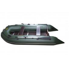 Инзер моторная 350 см, Ø 44, со сплошным полом, килевая надувная лодка ПВХ