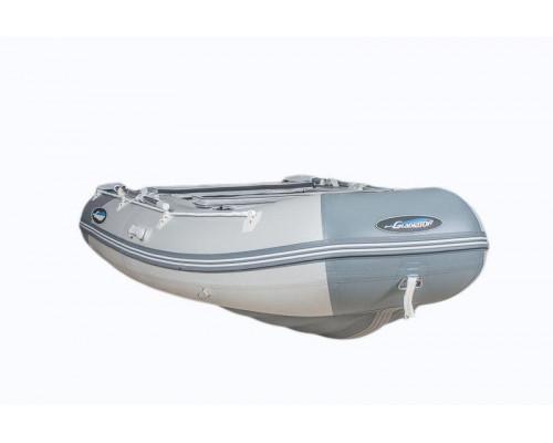 Гладиатор E330 LT (Air) с надувным дном низкого давления (НДНД) - моторная надувная лодка ПВХ