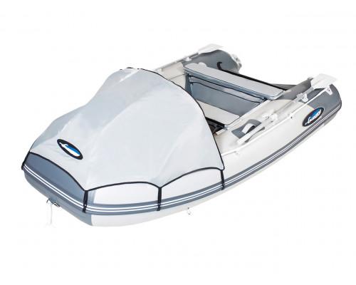 Гладиатор E330 (Air) с надувным дном низкого давления (НДНД) - моторная надувная лодка ПВХ