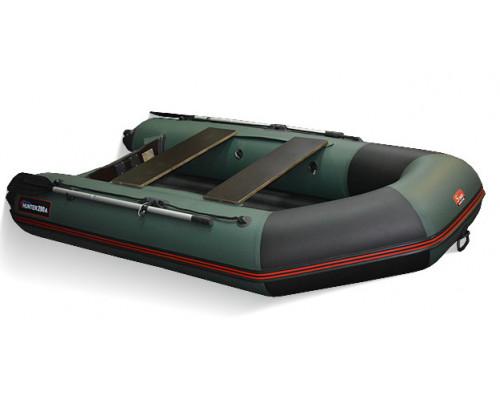 Хантер 290 ЛКА (НДНД) с надувным дном низкого давления - моторная надувная лодка ПВХ