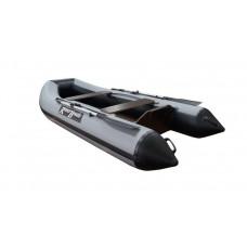 Riverboats RB-280 Лайт+ плоскодонная, с фанерным пайолом - моторная надувная лодка ПВХ