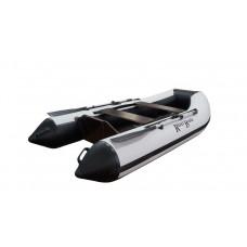 Riverboats RB-300 Лайт+ плоскодонная, с фанерным пайолом - моторная надувная лодка ПВХ