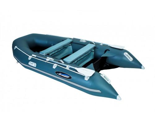 Гладиатор E350 (Air) с надувным дном низкого давления (НДНД) - моторная надувная лодка ПВХ