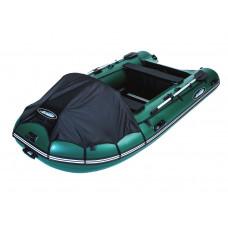 Гладиатор C420 (Active) килевая со сплошным фанерным полом со стрингерами - моторная надувная лодка ПВХ