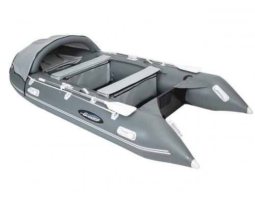 Гладиатор D330 (Professional) килевая с фанерным полом со стрингерами - моторная надувная лодка ПВХ