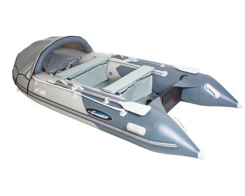 Гладиатор D330AL (Professional) килевая с алюминиевым полом со стрингерами - моторная надувная лодка ПВХ