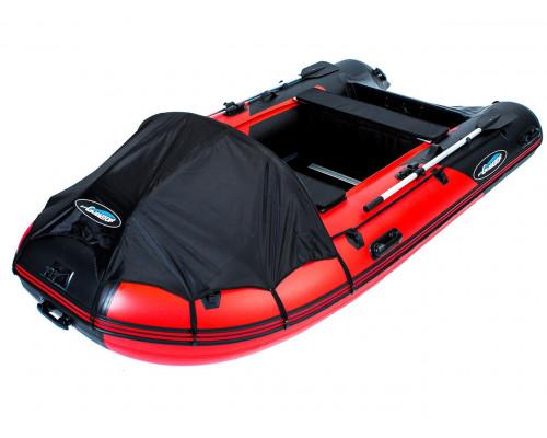 Гладиатор D370 DP (Professional) килевая с фанерным полом со стрингерами - моторная надувная лодка ПВХ