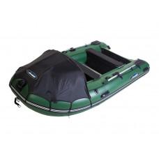 Гладиатор D370AL (Professional) килевая с алюминиевым полом со стрингерами - моторная надувная лодка ПВХ