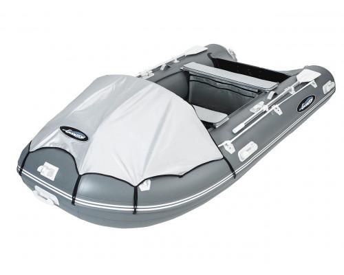 Гладиатор D400 (Professional) килевая с фанерным полом со стрингерами - моторная надувная лодка ПВХ