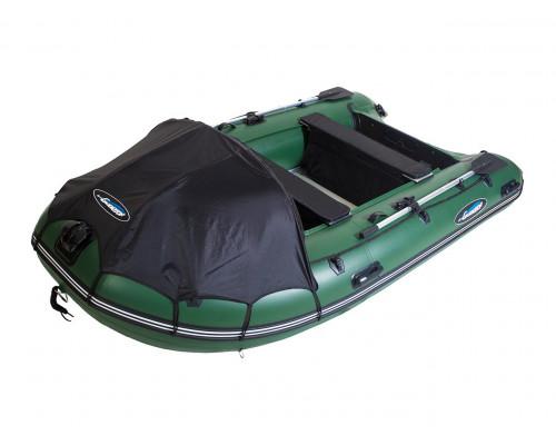 Гладиатор D420AL (Professional) килевая с алюминиевым полом со стрингерами - моторная надувная лодка ПВХ
