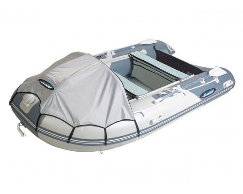 Гладиатор D450AL (Professional) килевая с алюминиевым полом со стрингерами - моторная надувная лодка ПВХ