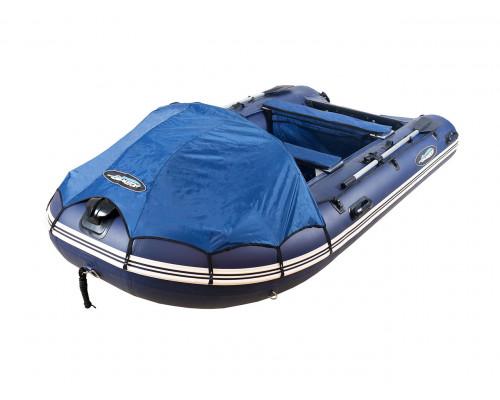 Гладиатор D500AL (Professional) килевая с алюминиевым пайолом со стрингерами - моторная надувная лодка ПВХ