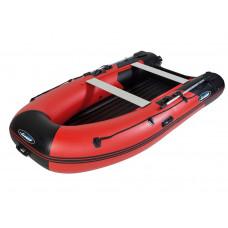 Гладиатор E350 LT (Air) с надувным дном низкого давления (НДНД) - моторная надувная лодка ПВХ