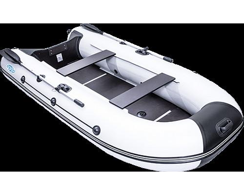 Rush 3300 СК килевая со сплошным фанерным полом со стрингерами - моторная надувная лодка ПВХ