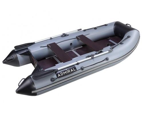 Адмирал 305 Classic килевая, с фанерным пайолом со стрингерами - моторная надувная лодка ПВХ