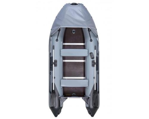 Адмирал 320 Sport Lux с расширенной комплектацией, фанерным пайолом, килевая - моторная надувная лодка ПВХ