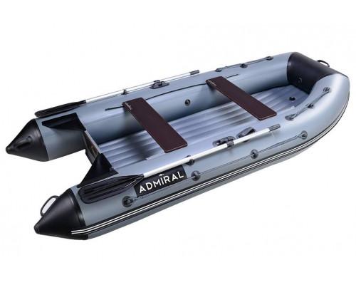 Адмирал 320 НДНД с надувным дном низкого давления - моторная надувная лодка ПВХ
