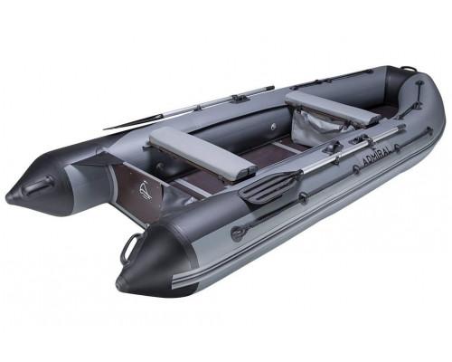 Адмирал 375 Sport с надувным килем и фанерным пайолом со стрингерами - моторная надувная лодка ПВХ