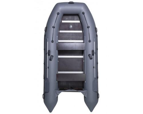 Адмирал 380 повышенной мореходности с килем и фанерным пайолом со стрингерами - моторная надувная лодка ПВХ