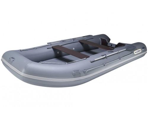 Адмирал 410 НДНД  с надувным дном низкого давления - моторная надувная лодка ПВХ