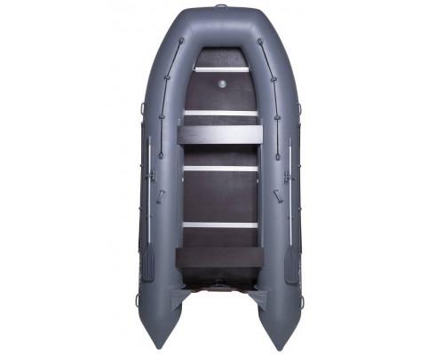 Адмирал 430 повышенной мореходности с килем и фанерным пайолом со стрингерами - моторная надувная лодка ПВХ