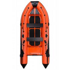 Адмирал RIB 410 Orange - классический RIB - жестко-надувная моторная лодка ПВХ