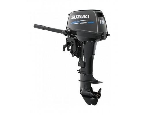 Suzuki DT15 AS (L) - 2х-тактный лодочный мотор