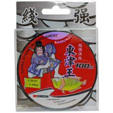 Леска Siweida Samurai (ST3) 100м 0,35 (11,44кг) прозрачная