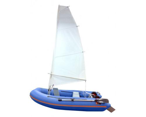 Складной РИБ WinBoat 275RF Sprint Sail - парусная жёстко-надувная моторная лодка