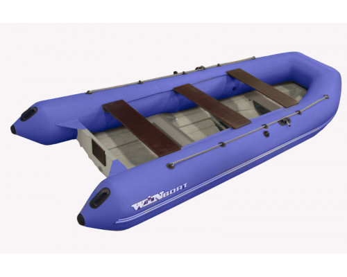 Складной РИБ WinBoat 375RF Sprint - жёстко-надувная моторная лодка