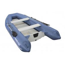 Складной РИБ WinBoat 375RF Sprint LUXE с плоской стеклопластиковой палубой - жёстко-надувная моторная лодка