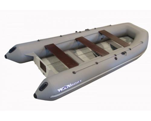 Складной РИБ WinBoat 430RF Sprint - жёстко-надувная моторная лодка