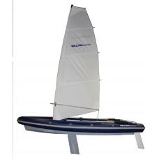 Складной РИБ WinBoat 460RF Sprint Sail - парусная жёстко-надувная моторная лодка