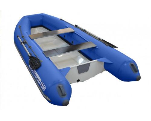 WinBoat 375RL с плоской стеклопластиковой палубой - классический РИБ - жёстко-надувная моторная лодка