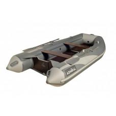 Адмирал 350 килевая, с фанерным пайолом со стрингерами - моторная надувная лодка ПВХ