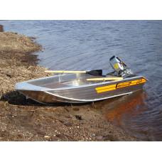 Wellboat-33 - алюминиевая моторная лодка