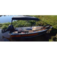 Wellboat-36 - алюминиевая моторная лодка