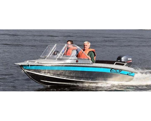 Алюминиевая лодка NewStyle 433 - автомобильная консоль