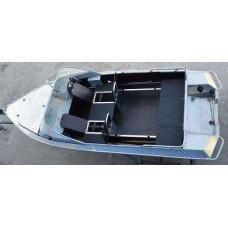Алюминиевая лодка NewStyle 433 Bunk - автомобильная консоль