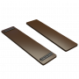 Банка на лодку ПВХ (850/790 мм) фанера (Коричневый)
